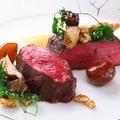 料理メニュー写真道産エゾ鹿モモ肉のロースト