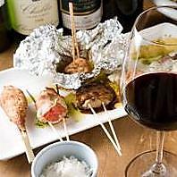 串焼きとの相性を考えたワインを厳選!