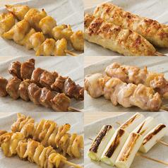 料理メニュー写真■串焼き単品各種(各2本)