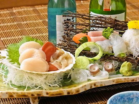 青森の食材、新鮮な魚や八甲田牛などの味を堪能できる店です!