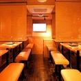宴会にぴったりのこちらのテーブル個室席は最大30名様までご利用可能です!!当店自慢の昔懐かしい雰囲気ととジューシーかつヘルシーなお肉の組み合わせは最高です♪店舗貸切は50名様~最大84名様まで承っておりますのでご遠慮なくお申しつけください!!