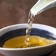 【田なか屋本店のこだわり】出汁からこだわった料理
