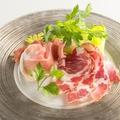 料理メニュー写真イタリア産プロシュートの盛り合わせ