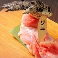 料理メニュー写真ワニの唐揚げ 100g
