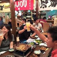 三線ライブも開催!!盛り上がる夜にみんなで乾杯!