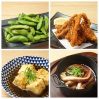 ■鮨・海鮮もの以外にも居酒屋メニューを豊富にご用意◎