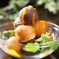 料理メニュー写真ミニメープルケーキ バニラアイスのせ