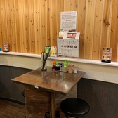当店では、カウンター席・テーブル席に薬味をご用意しております。好きなタイミングで薬味をチョイスしていただいたり…油そばの食べ方もメニューと共にご案内しておりますので是非ご参考に♪