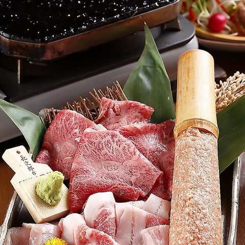 日本酒・焼酎が充実。肉類、海鮮類など、メニューはバラエティー豊富に品揃え。