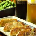 料理メニュー写真ジンギスカン餃子