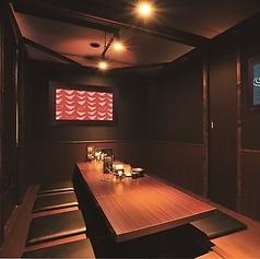 プライベート空間のある完全個室となっているため。ごゆっくりお食事と会話をお楽しみください。女子会などにも最適です。
