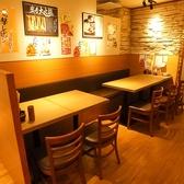 【松戸】広い空間でのテーブル席★