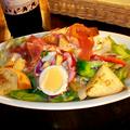 料理メニュー写真生ハムのシーザーサラダ