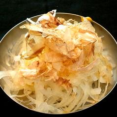料理メニュー写真オニオンスライス/冷奴/バリバリキャベツ