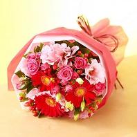 誕生日や記念日☆3000円相当の花束をプレゼント♪