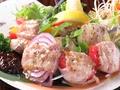 料理メニュー写真いろいろ野菜の肉巻き串