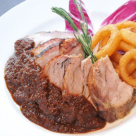 ボリューム&滋味溢れるお肉料理で大満足!!