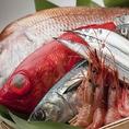 季節折々の海鮮料理をご用意しております。四季の移ろいをお楽しみください。