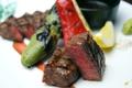 料理メニュー写真黒毛和牛イチボステーキ