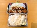 料理メニュー写真ヒレ野菜巻き定食