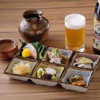 日本料理の修業で鍛えられた経験を活かして生み出す料理