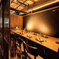 最大15名様までご利用可能◎な個室。ご会社などの宴会に人気なお席です