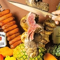 【2種のシュラスコ食べ放題コース!】ビアガーデン風BBQシュラスコと激辛スパイシーシュラスコの2種のコースをご用意しております!あなたはどちらがお好み??