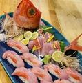 料理メニュー写真【不定期入荷!】金目鯛1尾をお好みで!