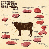 黒毛牛一頭買い♪希少部位11種類♪