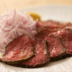 【肉尽くしコース】シェフ特製のローストビーフ付★9品通常4000円→クーポン利用で3500円