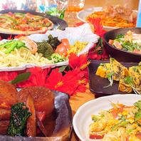 他では味わえない絶品沖縄珍味の数々で楽しいご宴会を♪
