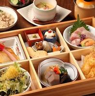 厳選の四季の幸が生きる新和食をご堪能いただけます。