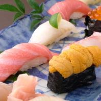 職人が握る本格お寿司!!