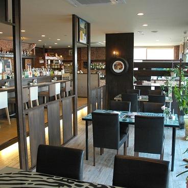 cafe dining beau bleu ブーブルの雰囲気1