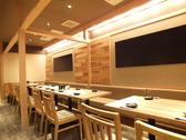 ゆっくり広々テーブル席は2~24名様までOK!楽しく飲んで楽しく食べて!