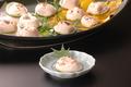 料理メニュー写真白子塩焼き(冬期のみ)