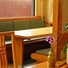 6名様掛けのテーブル席です。