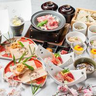 銀波新宿の旬の宴会コース
