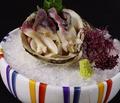 料理メニュー写真活北寄貝のお造り