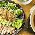 料理メニュー写真鶏肉のセリ鍋