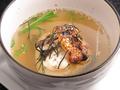 料理メニュー写真焼きおに茶漬け(鯛)