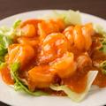 料理メニュー写真エビのチリソース