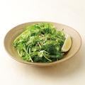 料理メニュー写真■パクチーと水菜のサラダ