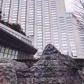 グランハイアット東京の前