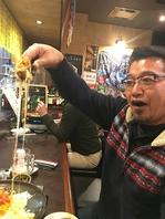 日本一伸び~るチーズタッカルビあります!