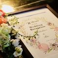 【パーティー/結婚式2次会】 ウェルカムボード