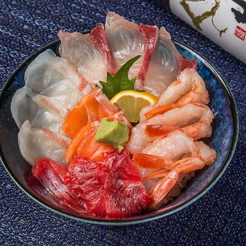 長浜鮮魚市場から仕入れる新鮮なネタに舌鼓♪