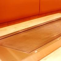 こだわりの厚さ20mm以上の鉄板