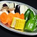 料理メニュー写真もちろんお野菜も♪