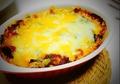 料理メニュー写真ナスのモッツァレラチーズ焼き